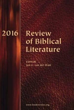 Review of Biblical Literature, 2016