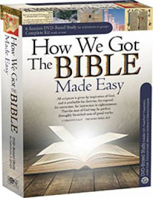 How We Got The Bible Dvd Complete Kit