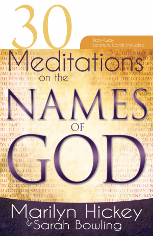 30 Meditations On The Names Of God Paperback Book