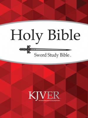 Kjver Sword Study Bible/Personal Size Large Print-Softcover