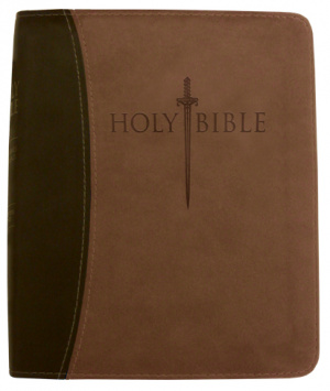 Kjv Sword Study Bible/Personal Size Large Print-Dark Brown/L