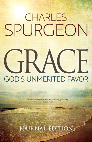 Grace: God's Unmerited Favour (Journal Edition)