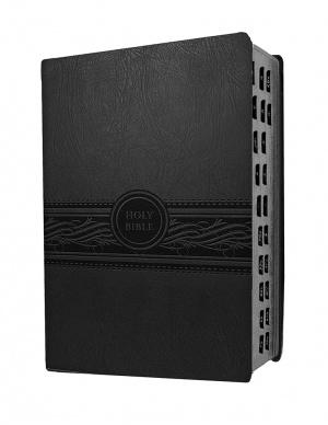 Personal Size Large Print Bible-Mev