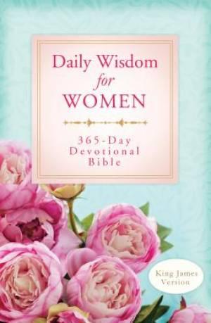 KJV Daily Wisdom For Women 365 Day Devotional Bible