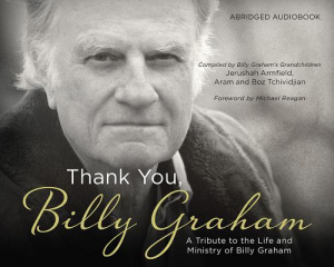 Thank You, Billy Graham Audio CD
