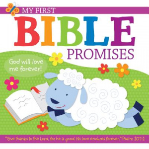 My First Bible Promises Hardback with CD