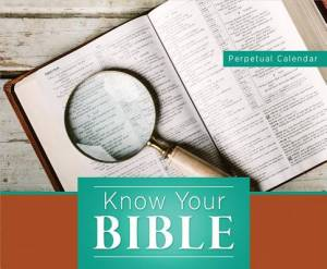 Know Your Bible Perpetual Calendar