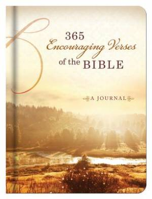 365 Encouraging Verses Of The Bible Journal Hardback