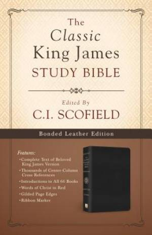 Classic King James Study Bible Edited By C I Schofield Black Bonded Leather