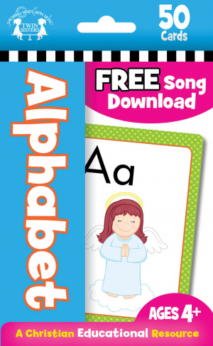 Alphabet Christian Flash Cards (50)