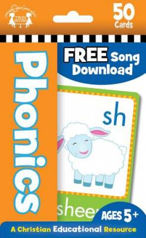 Phonics Christian Flash Cards (50)