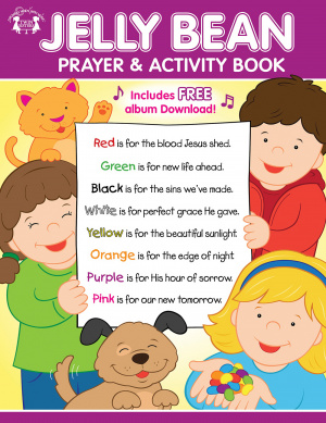 Jelly Bean Prayer & Activity Book Paperback