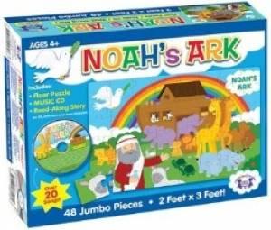 Noah's Ark Giant Floor Puzzle & CD