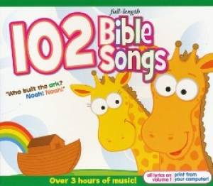 102 Bible Songs 3CD