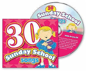 30 Sunday School Songs Cd