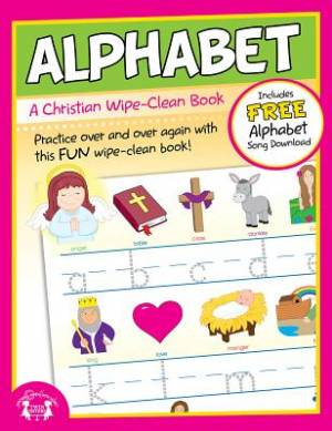 Alphabet Wipe-Clean Workbook Paperback
