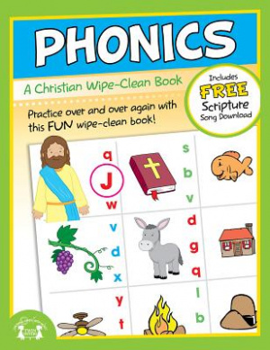 Phonics Wipe-Clean Workbook Paperback