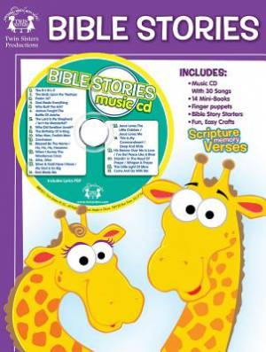 Bible Stories 48-Page Workbook & CD