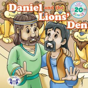 Daniel And The Lions' Den Padded Board Book & CD