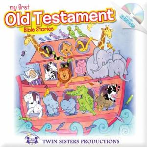 My First Old Testament Bible Stories Padded Board Book & CD