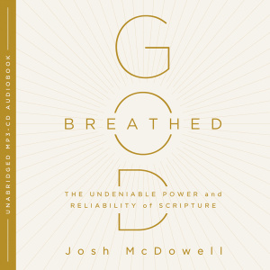 God-Breathed Audiobook MP3 CD