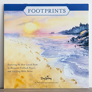 Footprints Wall Calendar 2017