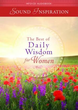 The Best Of Daily Wisdom For Women Devotional Audiobook MP3 CD