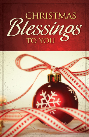 Christmas Blessings To You (Pack Of 25)