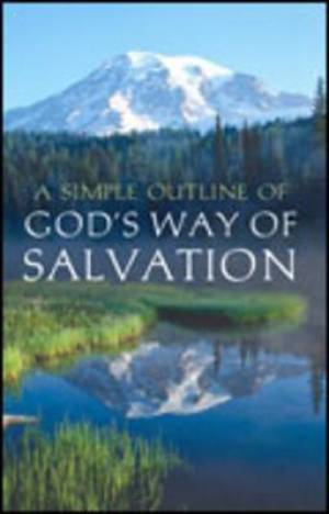 A Simple Outline Of God's Way Of Salvation (Pack Of 25)