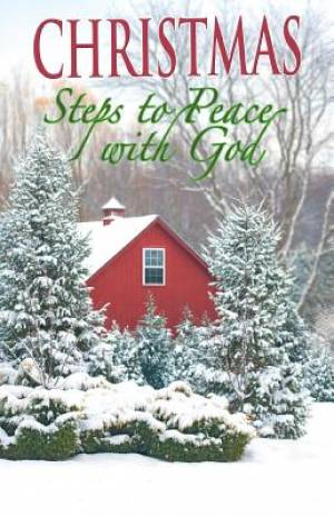 Christmas Steps To Peace With God (Pack Of 25)