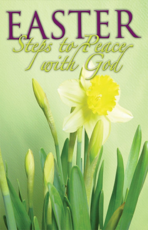 Easter Steps To Peace With God (Pack Of 25)