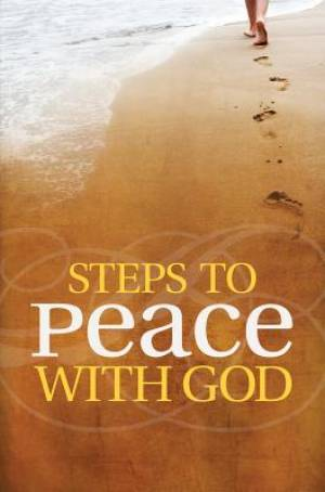 Steps To Peace With God, ESV Edition (Pack Of 25)