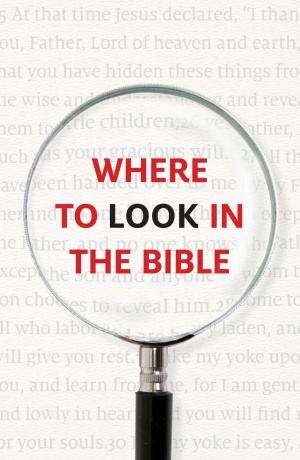 Where To Look In The Bible (Pack Of 25)