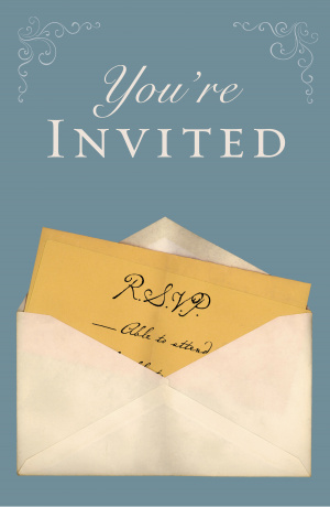 Youre Invited Tracts - Pack Of 25
