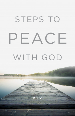 Steps To Peace With God, KJV Edition (Pack Of 25)