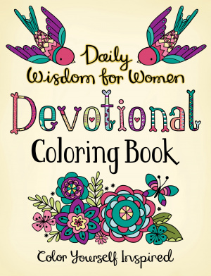 Daily Wisdom for Women Devotional Colouring Book