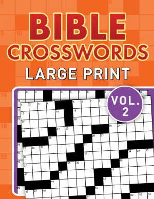 Bible Crosswords Large Print Vol. 2