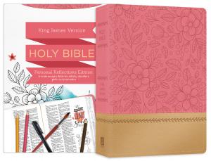 Personal Reflections KJV Bible [Rosegold Bloom]