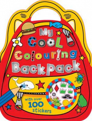 Col  Stick Cool Colouring Backpack