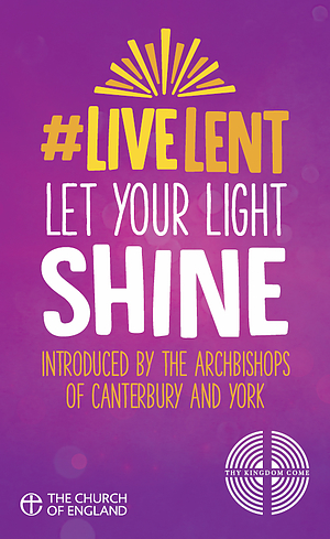 Live Lent: Let Your Light Shine -  Pack of 50