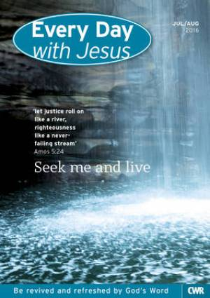 Every Day with Jesus Large Print July August 2016