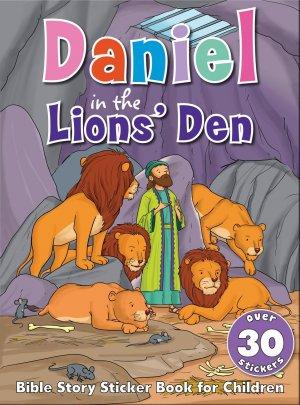 Bible Sticker Book - Daniel in the Lions Den