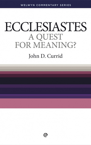 Ecclesiastes:  A Quest for Meaning ?
