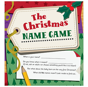 The Christmas Name Game Pack of 25