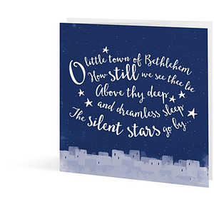 O Little Town of Bethlehem - Pack of 25