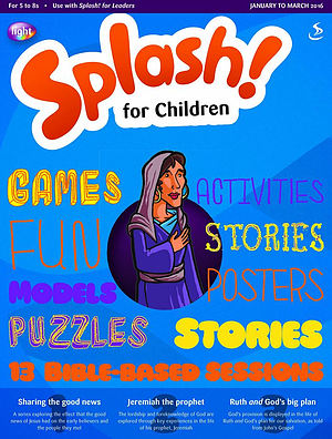Splash for Children January March 2016