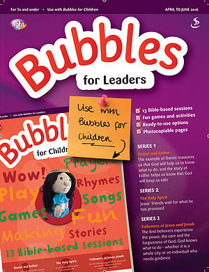 Bubbles for Leaders April June 2016