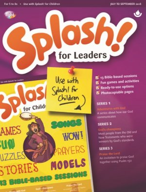 Splash for Leaders July to September 2018