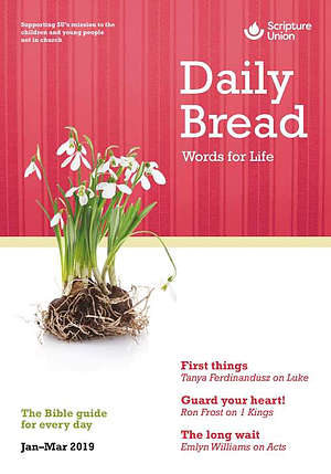 Daily Bread Large Print January-March 2019