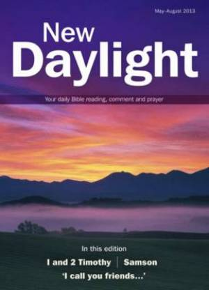 New Daylight May Aug 2013